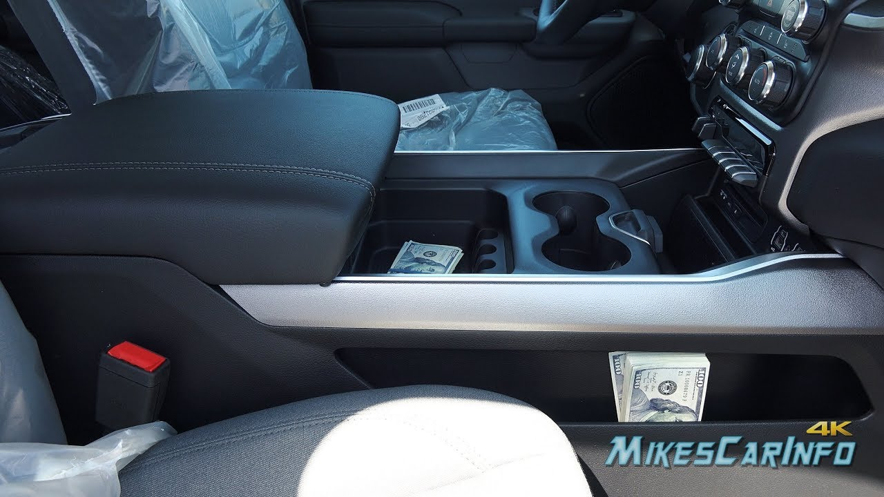 2019 Ram 1500 New Center Console First Look Youtube