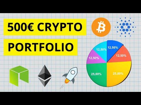 Wie man mit nur 500€ ein Krypto Portfolio bauen kann - Welche Kryptowährungen kaufen? 📊