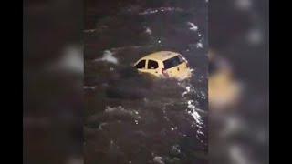 Taxi cae al río Magdalena porque conductor al parecer quería atentar contra pareja-Noticias Caracol