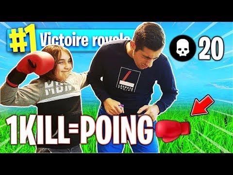 1 KILL = 1 PATATE POUR CETTE ENFANT SUR FORTNITE ! thumbnail