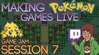Making Pokemon Games Live (Game Jam Session 7)