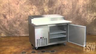 Metalfrio Pizza Prep Table (picl1)