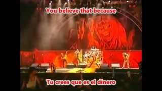 Iron Maiden - 22 Acacia Avenue - En Vivo (Subtitulos Español Lyrics)