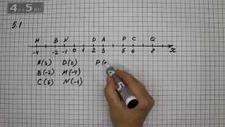 Упражнение 5.1. Алгебра 7 класс Мордкович А.Г