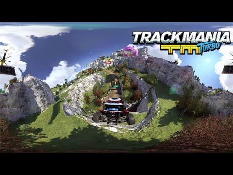 Студия Ubisoft выпустила необычный трейлер в 360° к игре Trackmania Turbo