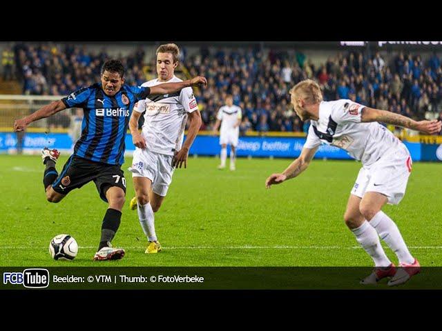 2012-2013 - Jupiler Pro League - 10. Club Brugge - Racing Genk 1-1