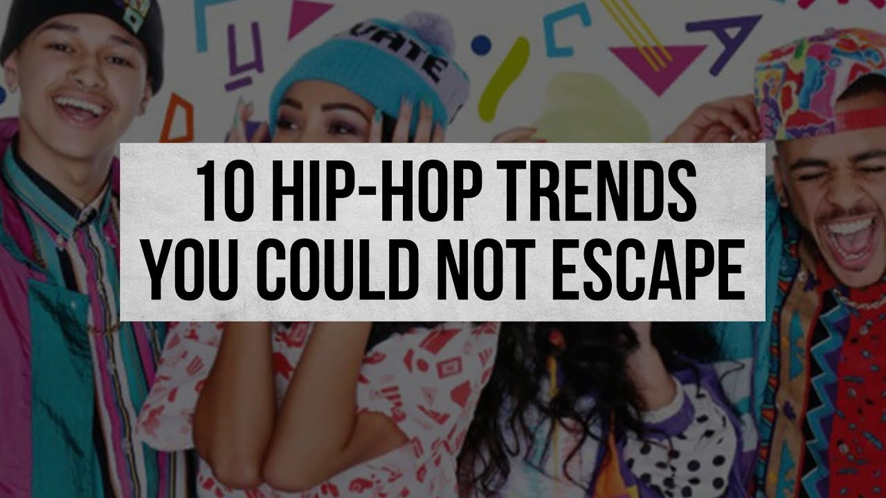 This Is What We Doin' Now? 10 Hip-Hop Trends You Could NOT Escape