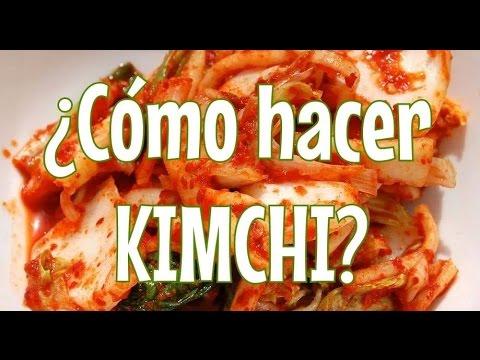 C Sur Cocina Recetas | Receta Kimchi Comida Coreana Dtec Youtube