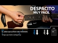 Cómo tocar Despacito fácil en guitarra (sin cejilla) | Guitarraviva