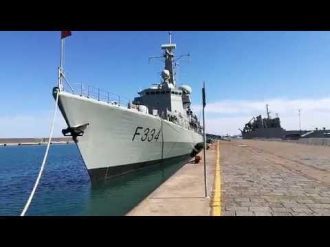Pasquetta al Porto di Catania, navi militari e mare fantastico (diretta facebook) catania time!