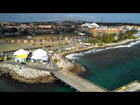 Curacao Port from the ship VID 20140220