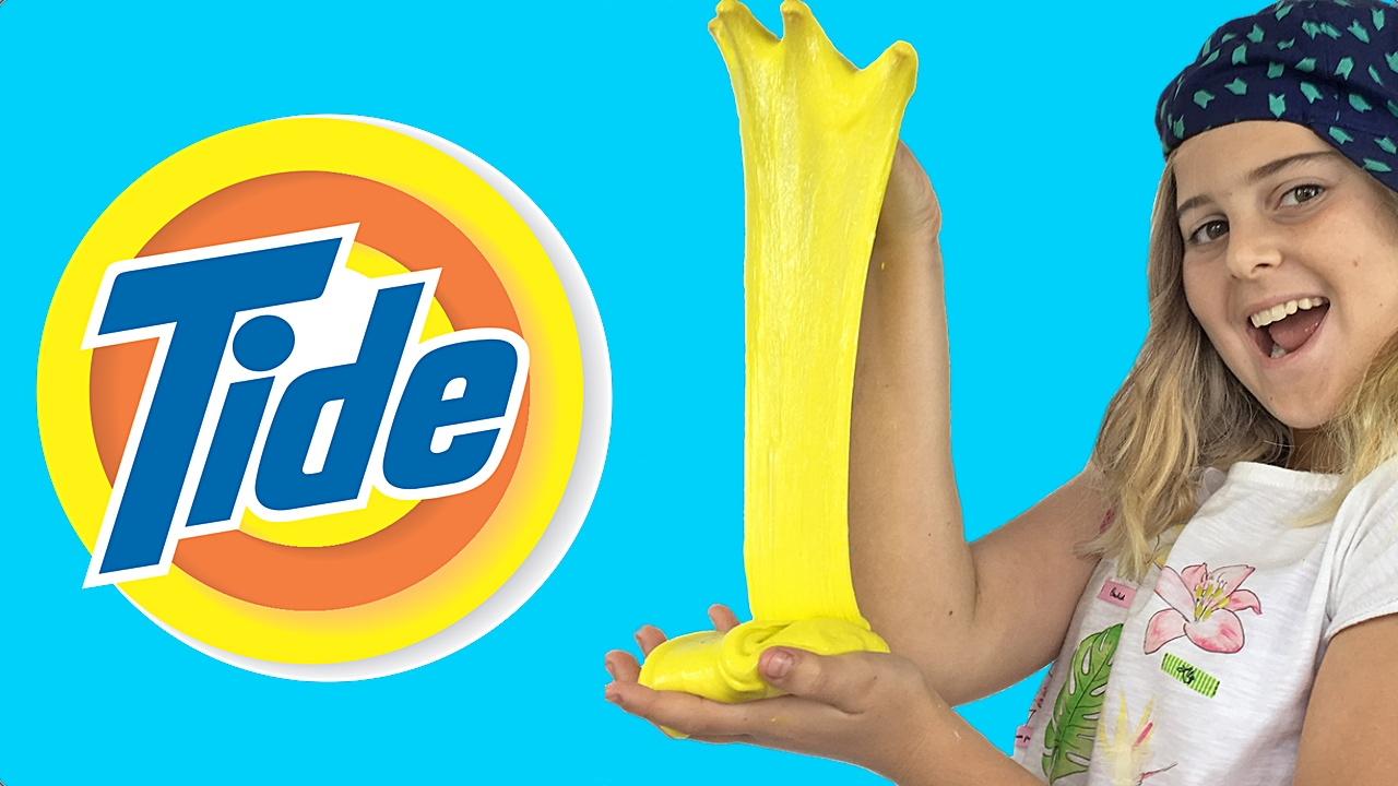 Detergent slime how to make slime with tide detergent youtube ccuart Images