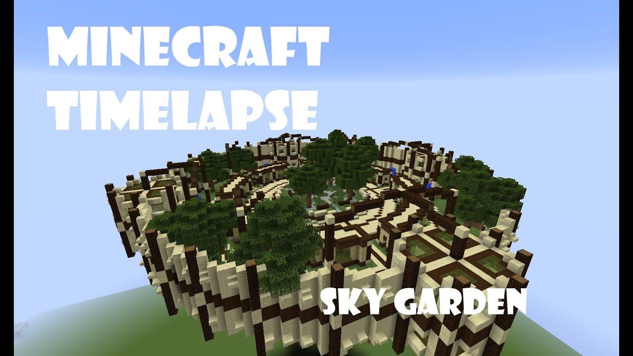Minecraft Timelapse Sky Garden Youtube Schematic