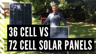 Industry Standard Panel vs A 1st Step Solar Panel