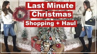 Christmas Shop With Me & Haul   Last Minute Gift Ideas   Momma From Scratch