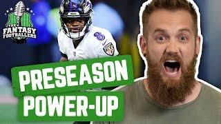 Fantasy Football 2019 - Preseason Power-Up + Crucial Draft Questions - Ep. #755