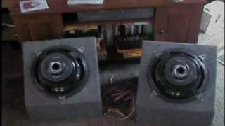 (1) Ground Zero Nuke Subwoofer 15 VS (2) Kenwood Typhoon 12