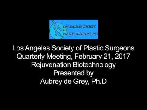 Aubrey de Grey on Rejuvenation Biotechnology Presentation 2017