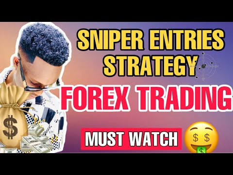 INSANE SNIPER ENTRIES STRATEGY(FOREX TRADING)