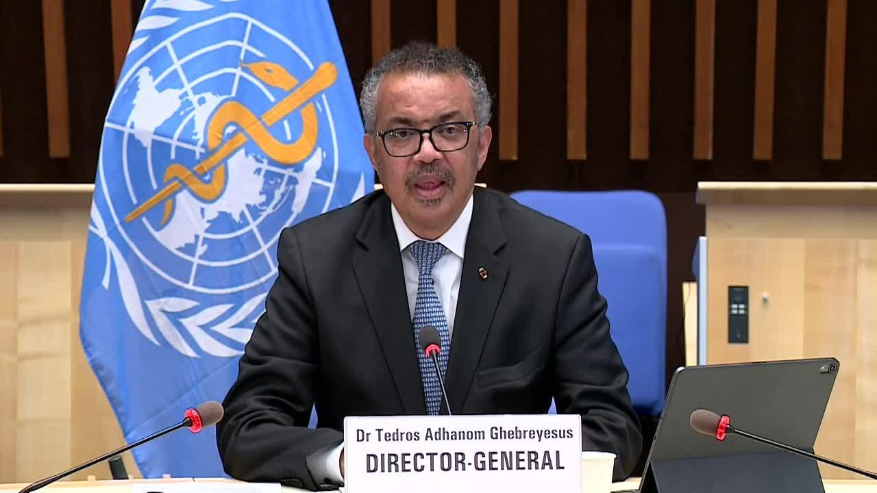 Dr. Tedros Adhanom (WHO) - Safely reopening society (Geneva, 31 August  2020) - YouTube