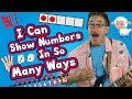 I Can Show Numbers In So Many Ways | Math Song for Kids | How to Represent Numbers | Jack Hartmann