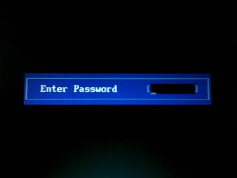 Flash Bios hp mot de passe oublié (cmos password)  - reset bios cmos