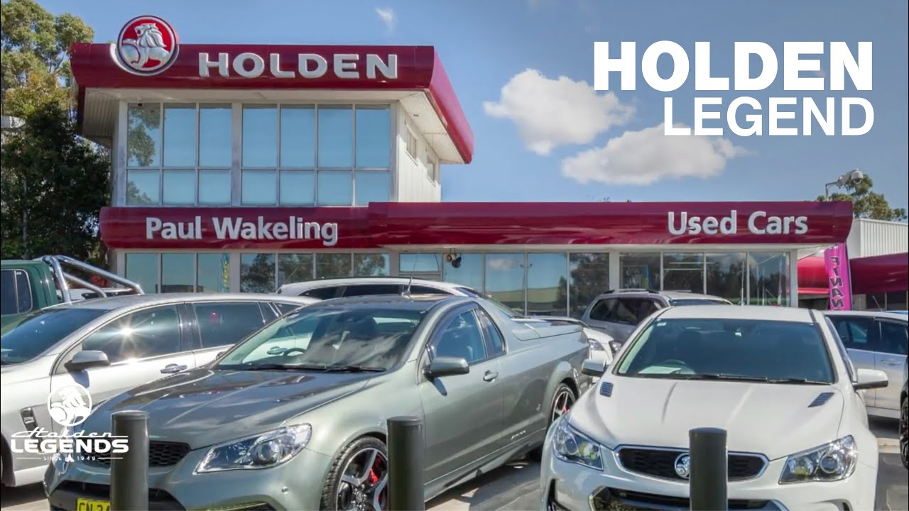 Holden Legend  - Paul Wakeling Motors: Classic Restos - Series 46
