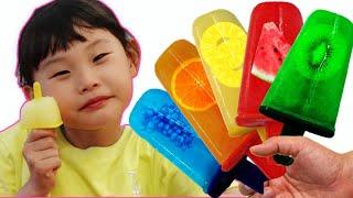 라임의 아이스크림만들기와 짜장면 먹방 웃긴영상 모음 |supermarket song nursery rhyme LimeTube