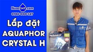 Aquaphor Crystal H - Máy lọc nước AQUA Giá rẻ - NHỎ GỌN NHẤT- Công nghệ Nano AQUALEN Nhập khẩu Nga ✅
