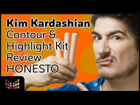 Kim Kardashian Contour Kit review 100% Honesto Ft Mercedes Astorima