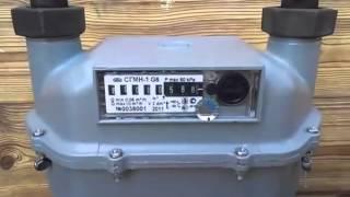 Как остановить счетчик газа СГМН 1 G6 неодимовым магнитом, прошит под остановку  8-800-250-11-97(Счетчик прошит для контроля и останавливается маленьким магнитом., 2015-01-13T19:32:18.000Z)