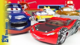 Disney Cars Diecast Toys part 5 Heavy Metal McQueen Ivan New Old Hard to find Unboxing New カーズ 2015
