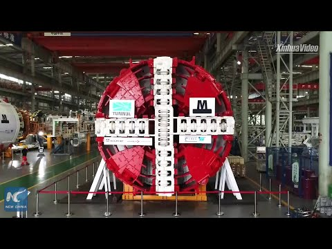 Chinese-made Tunnel Boring Machine To Be Exported To Denmark