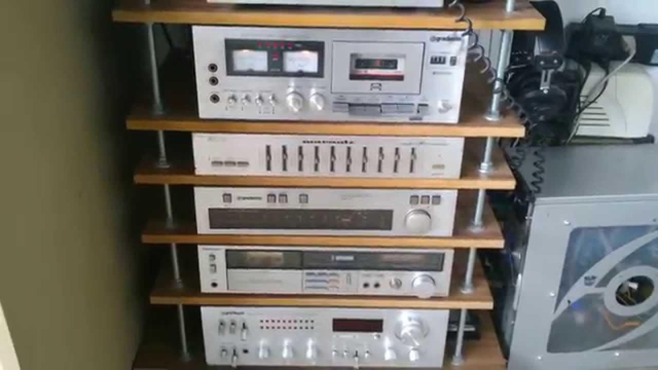 Audio Vintage Rack Modular Amp Kraftwerk Youtube