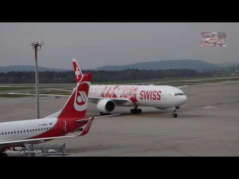 Zurich airport observation deck part 1