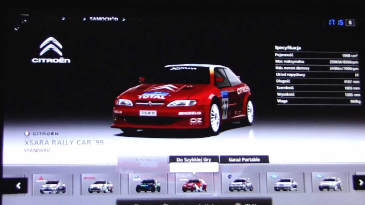 gran turismo 5 rally car list youtube. Black Bedroom Furniture Sets. Home Design Ideas