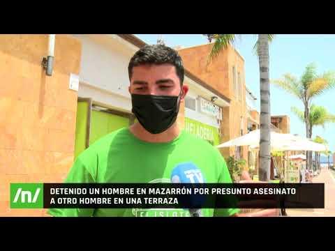 14/06/2021 Muere un hombre de 39 años tras recibir tres disparos en el Puerto de Mazarrón