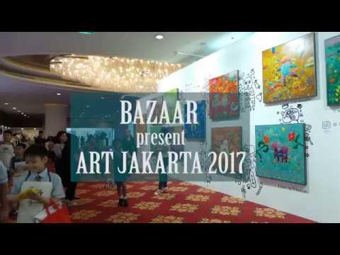"ANTARANEWS - ""Unity in Diversity"" dituangkan dalam Live Painting Art Jakarta 2017"