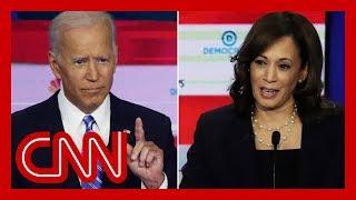 Biden and Harris will meet again on the debate stage