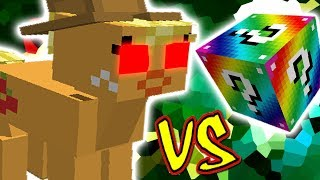 APPLEJACK VS. LUCKY BLOCK RAINBOW (MINECRAFT LUCKY BLOCK CHALLENGE)