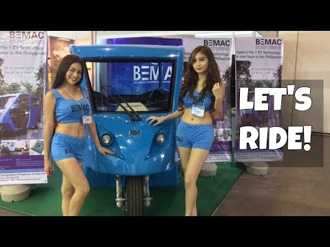 BEMAC Electric Tricycles on the road now!