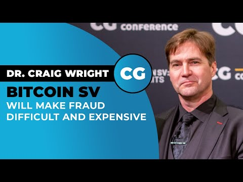 Dr. Craig Wright on the accountability of Bitcoin, Metanet incentives