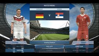 "PES 2015 Gameplay: Serbia vs. Germany [HD] [PC] [""mala"" Srbija PORAZILA ""veliku"" Nemacku]"