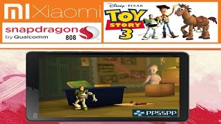[ XIAOMI MI 4C ] Toy Story 3 [ PSP emulator for Android ] SETTINGS Snapdragon 808 + PPSSPP