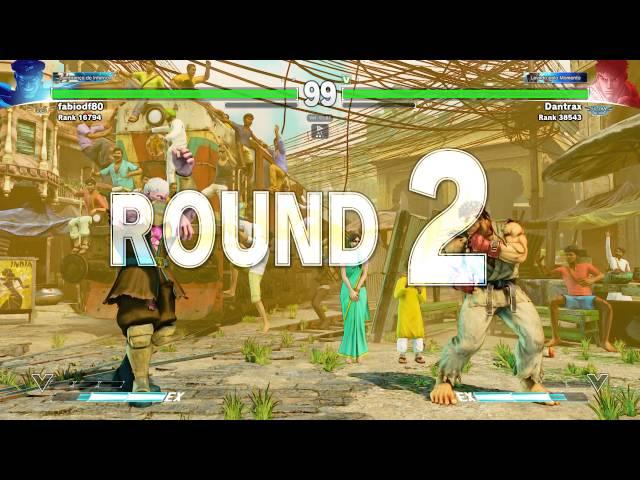 SF V Dantrax(Ryu) vs fabiod08(Bison)