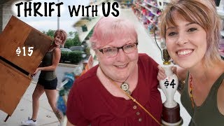 SCORE! Can't Believe I Found this at Goodwill! | Thrift with Us | Reselling for Profit