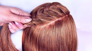 5 Быстрых причесок на длинные волосы Легкие прически пошагово