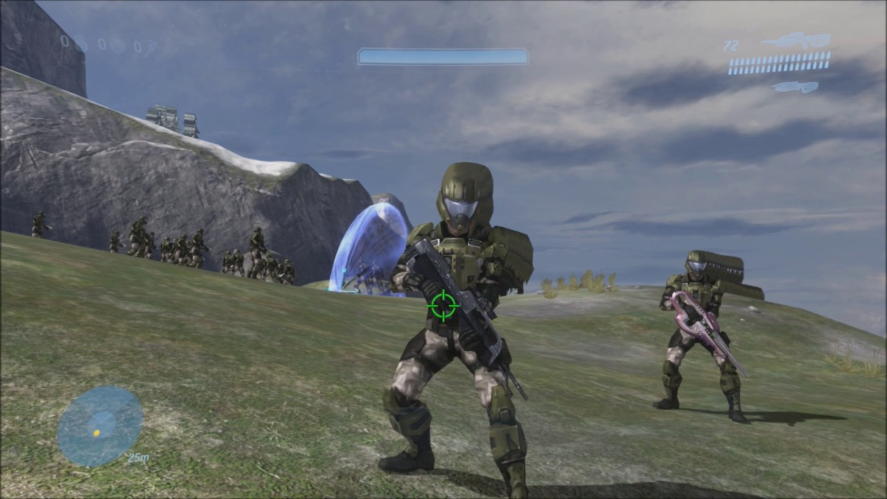 Halo 3 - Marine Island Glitch + Pilot Face Revealed (REVISITED)