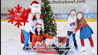 Dundonald International Ice Bowl - Santa On Ice - Christmas 2015