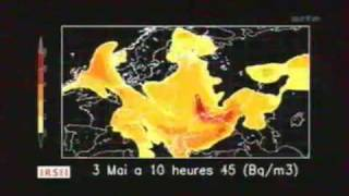 Cloud Of Lies - evolution du nuage radioactif de tchernobyl par le Sergent ( 26 avril 1986 )